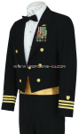 U.S. COAST GUARD MALE OFFICER DINNER DRESS BLUE JACKET UNIFORM