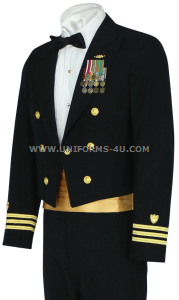 us coast guard officer dinner dress blue (ddb) jacket uniform