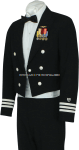 U.S. COAST GUARD AUXILIARY MEN'S DINNER DRESS BLUE JACKET UNIFORM