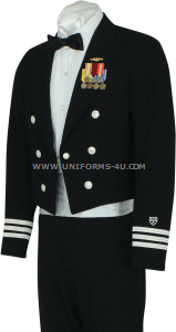 us coast guard auxiliary dinner dress blue (ddb) jacket uniform