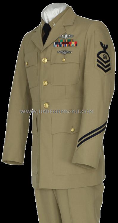 Service Dress Khaki Uniform 107