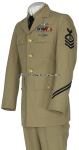 U.S. NAVY CHIEF PETTY OFFICER SERVICE DRESS KHAKI UNIFORM