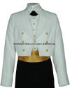 US COAST GUARD FEMALE DINNER DRESS WHITE JACKET