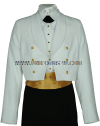 us coast guard female dinner dress white coat