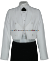 US COAST GUARD AUXILIARY FEMALE DINNER DRESS WHITE JACKET