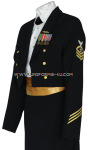 U.S. NAVY FEMALE CPO/ENLISTED DINNER DRESS BLUE JACKET UNIFORM