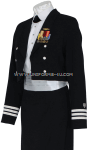 U.S. COAST GUARD AUXILIARY WOMEN'S DINNER DRESS BLUE JACKET UNIFORM