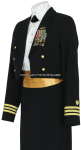 U.S. COAT GUARD FEMALE OFFICER DINNER DRESS BLUE JACKET UNIFORM