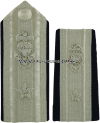 COAST GUARD AUXILIARY DISTRICT OR ASSISTANT NATIONAL COMMODORE HARD/ENHANCED SHOULDER BOARDS