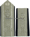 COAST GUARD AUXILIARY NATIONAL COMMODORE HARD/ENHANCED SHOULDER BOARDS