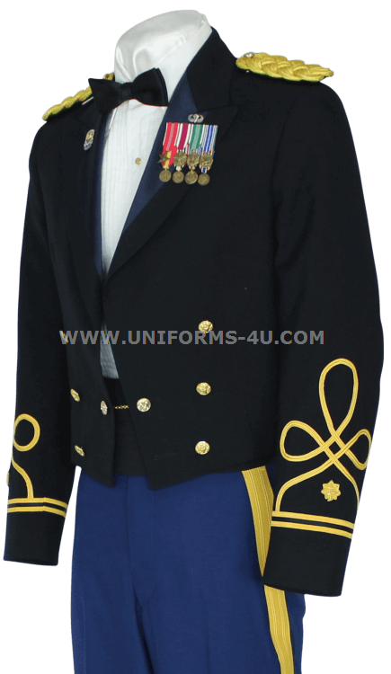 us army officer blue mess dress uniform