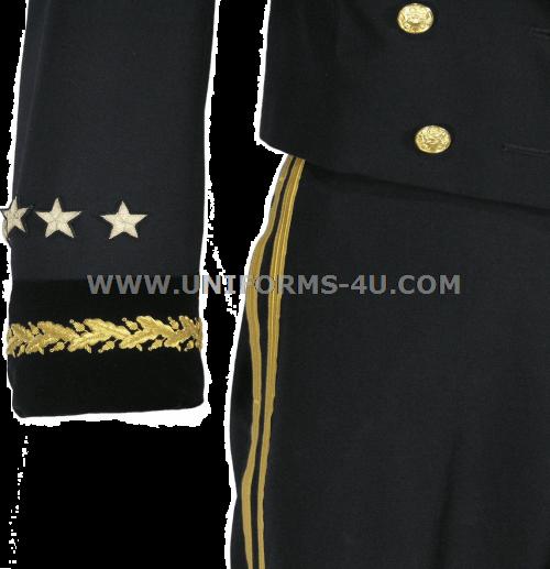 Us Army Officer Blue Mess Dress Uniform