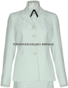 US COAST GUARD AUXILIARY FEMALE SERVICE DRESS WHITE JACKET