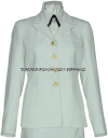 usphs female service dress white jacket