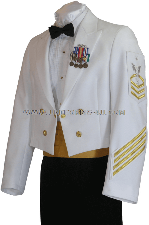 us navy dinner dress white enlisted cpo uniform