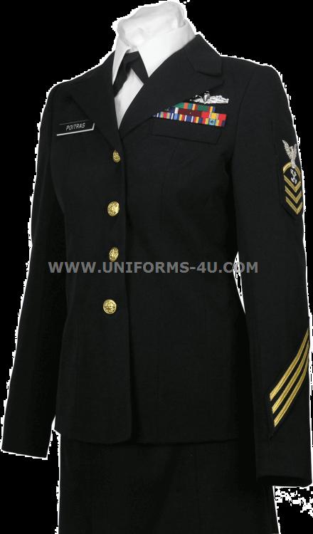 Navy dress uniform enlisted