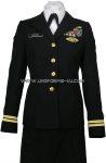 US NAVY FEMALE OFFICER SERVICE DRESS BLUE UNIFORM