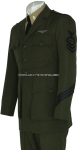 US NAVY CPO AVIATION WORKING GREEN UNIFORM