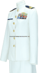 US COAST GUARD FEMALE SERVICE DRESS WHITE (SDW) OFFICER UNIFORM