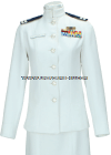 US COAST GUARD AUXILIARY FEMALE SERVICE DRESS WHITE (SDW) UNIFORM