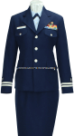U.S. COAST GUARD AUXILIARY WOMEN'S SERVICE DRESS BLUE UNIFORM