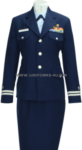 us coast guard auxiliary female service dress blue (sdb) uniform