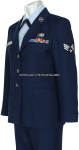 USAF FEMALE ENLISTED DRESS UNIFORM