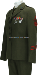 USMC FEMALE ENLISTED SERVICE DRESS UNIFORM