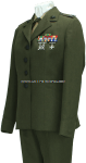 USMC FEMALE OFFICER SERVICE DRESS UNIFORM