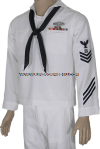 U.S. NAVY ENLISTED SERVICE DRESS WHITE UNIFORM (E1 - E6)