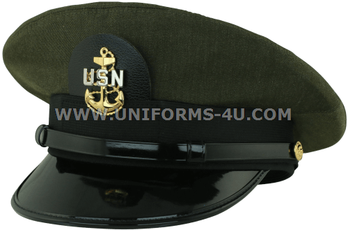 1156510607a us navy chief petty officer cpo aviation green hat