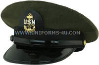 us navy chief petty officer cpo aviation green hat