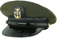 us navy master chief petty officer aviation green hat