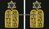 US NAVY JEWISH CHAPLAIN CORPS SLEEVE DEVICE