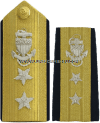 uscg rear admiral upper hard shoulder boards