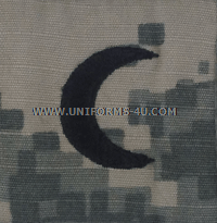 army combat uniform acu muslim chaplain rank insignia