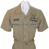 U.S. NAVY MALE CHIEF PETTY OFFICER SERVICE KHAKI UNIFORM