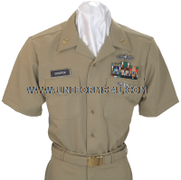 us navy cief petty officer summer khaki uniform