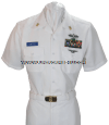 U.S. NAVY MALE CHIEF PETTY OFFICER SUMMER WHITE SERVICE UNIFORM