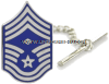 air force tie tac chief master sergeant with diamond