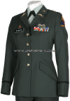 US ARMY FEMALE GREEN OFFICER UNIFORM