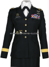 US ARMY GENERAL FEMALE BLUE ARMY SERVICE UNIFORM - ASU