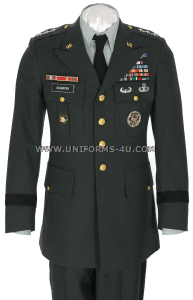 us army general class a green uniform