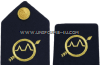 COAST GUARD OPERATIONS SYSTEMS SPECIALIST WARRANT OFFICER HARD SHOULDER BOARDS