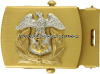 us merchant marine belt buckle