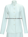 us coast guard auxiliary female service dress white choker