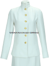 usphs female service dress white choker