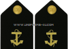 U.S. MERCHANT MARINE HARD SHOULDER BOARDS WITH ANCHOR