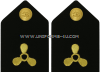 U.S. MERCHANT MARINE HARD SHOULDER BOARDS WITH PROPELLER