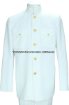 us merchant marine service dress white coat